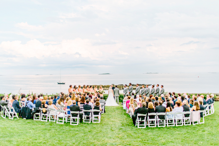 Misselwood Wedding Photo Wedding Ceremony by the ocean