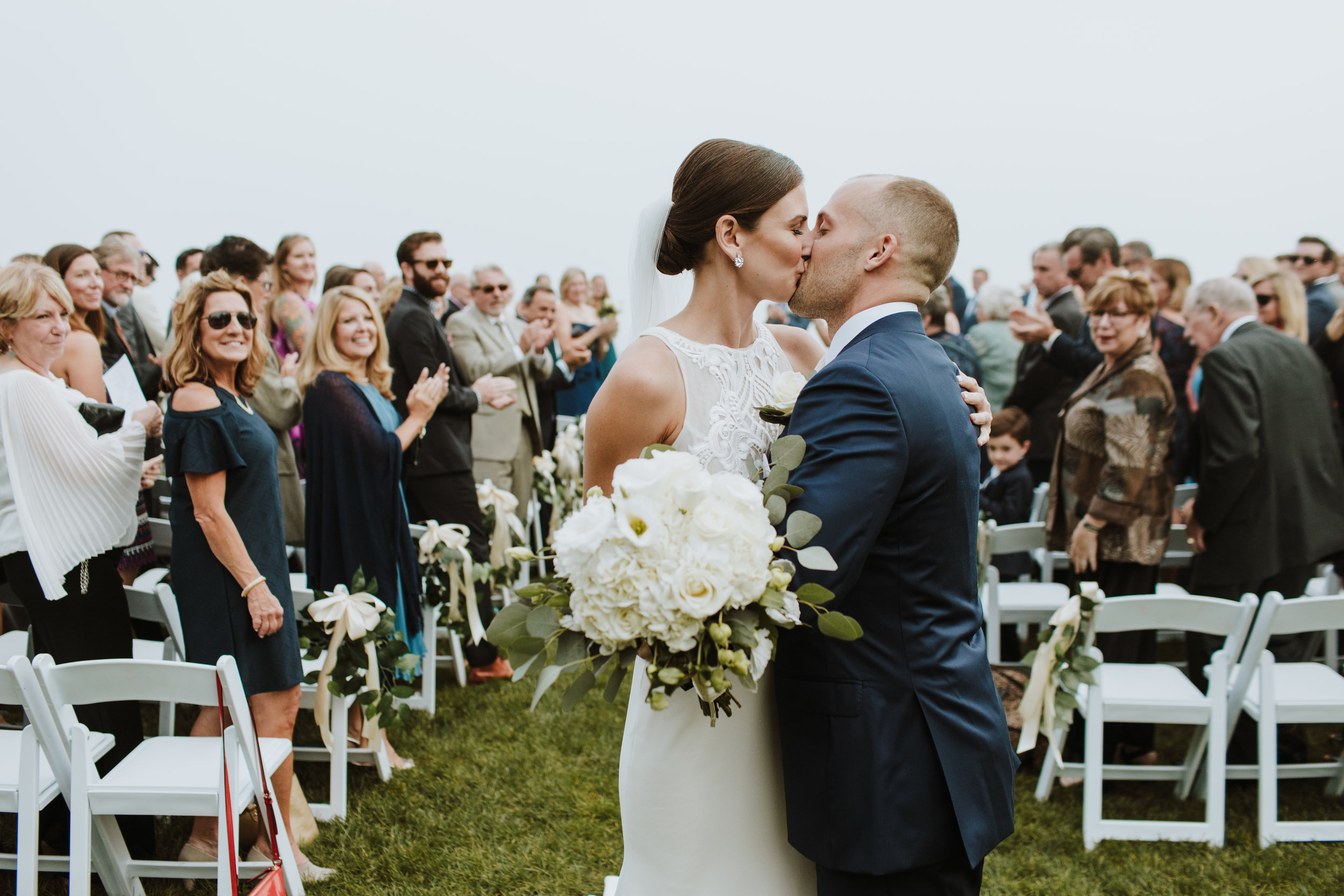 Misselwood Wedding Photo Bride and Groom kissing